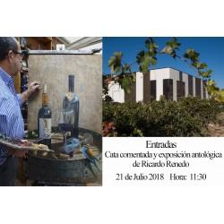 Cata y exposición 21 de Julio a las 11:30